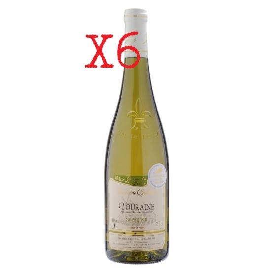 Domaine Bellevue: Touraine Sauvignon Blanc 2019 fehérbor (Loire-völgye, Franciaország) kartonos