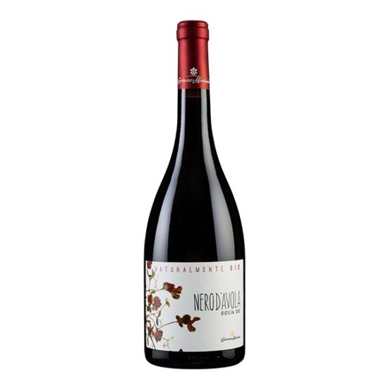 Caruso & Minini - Nero d' Avola Naturalmente BIO 2018/2019 vörösbor (Szicília, Olaszország)