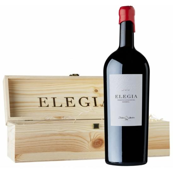"""Consorzio Manduria: Primitivo di Manduria """"Elegia"""" Riserva MAGNUM 2016 nagypalackos vörösbor (Puglia, Olaszország)"""