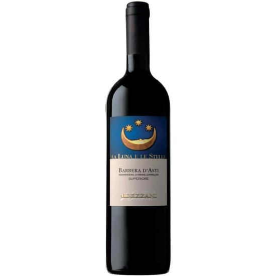"Dezzani: Barbera d' Asti ""La Luna e le Stelle"" 2015 vörösbor (Piemont, Olaszország)"