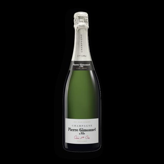 Pierre Gimonnet: Champagne Cuis 1er Cru Brut palackban erjesztett fehér pezsgő (Champagne, Franciaország)