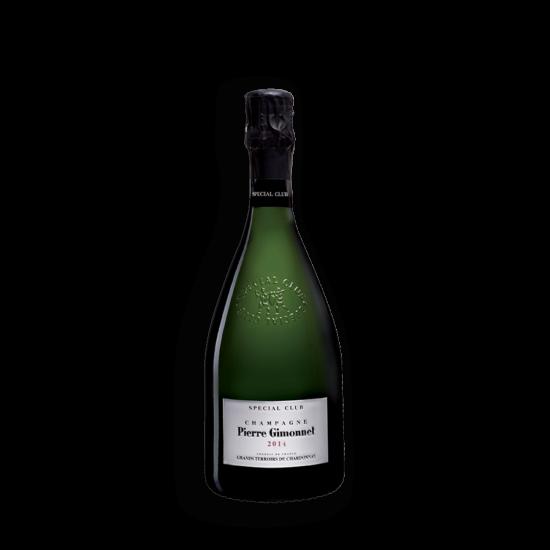 Pierre Gimonnet: Champagne Special Club Vintage 2014 palackban erjesztett fehér pezsgő (Champagne, Franciaország)