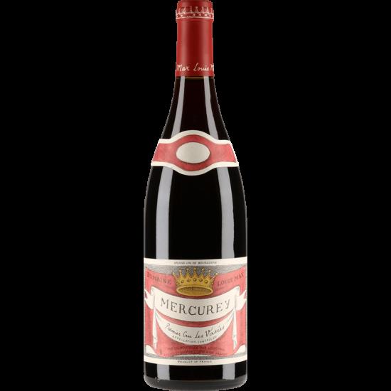 """Louis Max: Mercurey 1er cru """"Les Vasées"""" 2015 vörösbor (Burgundia, Franciaország)"""
