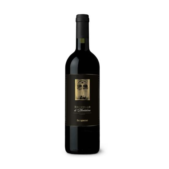 Scopone: Brunello di Montalcino 2015 vörösbor (Toszkána, Olaszország)