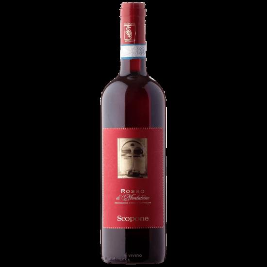 Scopone: Rosso di Montalcino 2017 vörösbor (Toszkána, Olaszország)